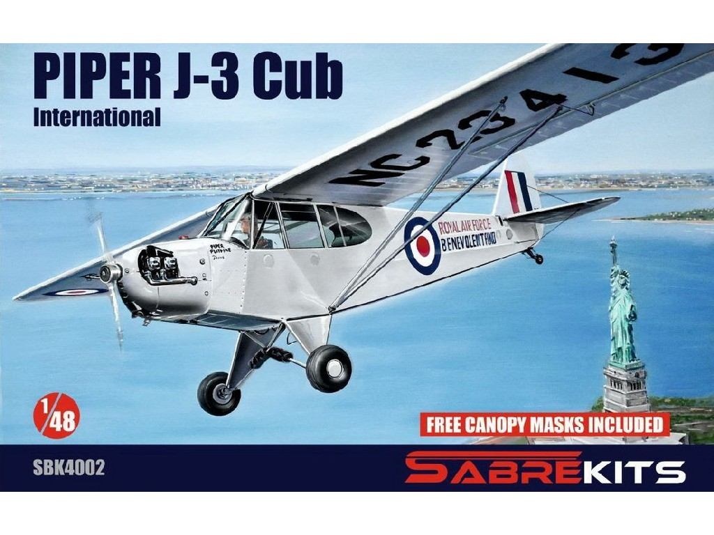"1/48 Piper J-3 Cub ""International""- Sabre Kits"
