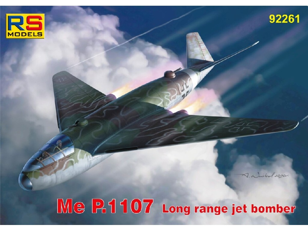RS Models - 92261 - Messerschmitt Me P.1107 1:72