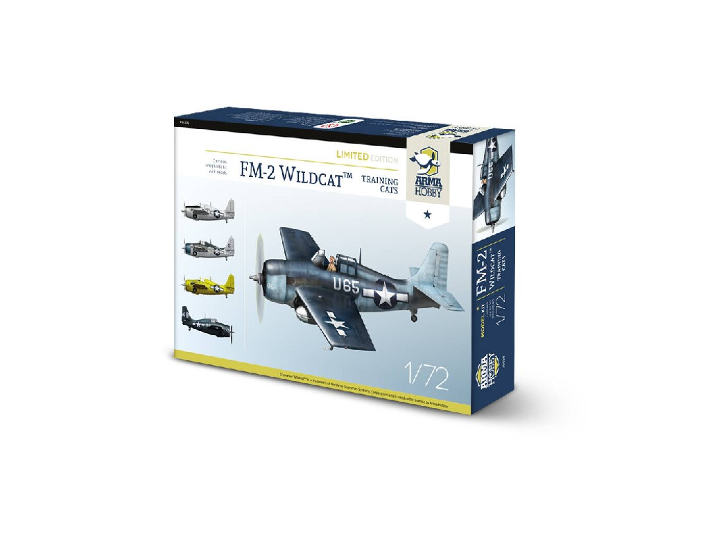 1/72 FM-2 Wildcat™ Training Cats Limited Edition