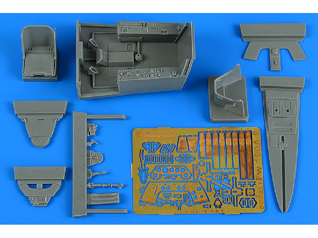 Aires - 2251 - Fw 190A-8 cockpit set for REVELL kit 1:32