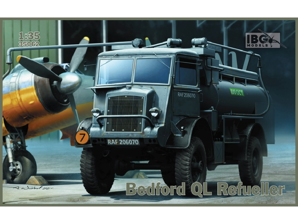 IBG Models - 35062 - Bedford QL Refueller - IBG 1:35