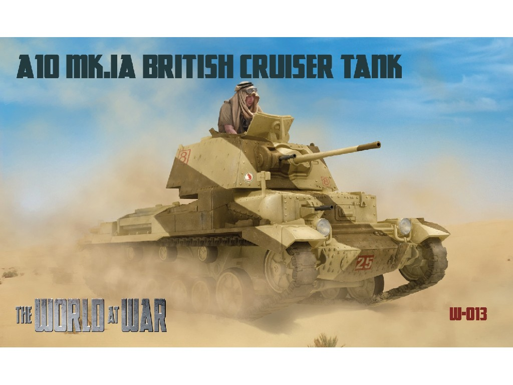 IBG Models - WAW013 - World at War - A10 Mk.Ia British Cruiser Tank - IBG 1:72