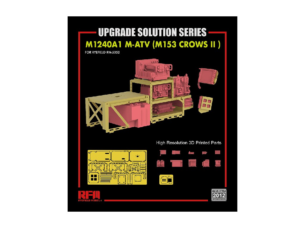 Ryefield Model - 2012 - Upgrade set for 5032 + 5052 M-ATV - 1:35