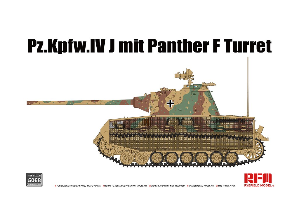 Rye Field Model - RFM5068 - U.S. Combat Cartons 1:35
