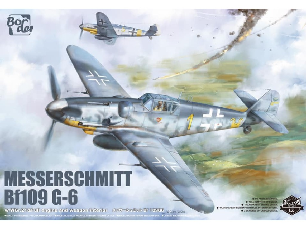 1/35 Messerschmitt Bf109 G-6 - Border Model