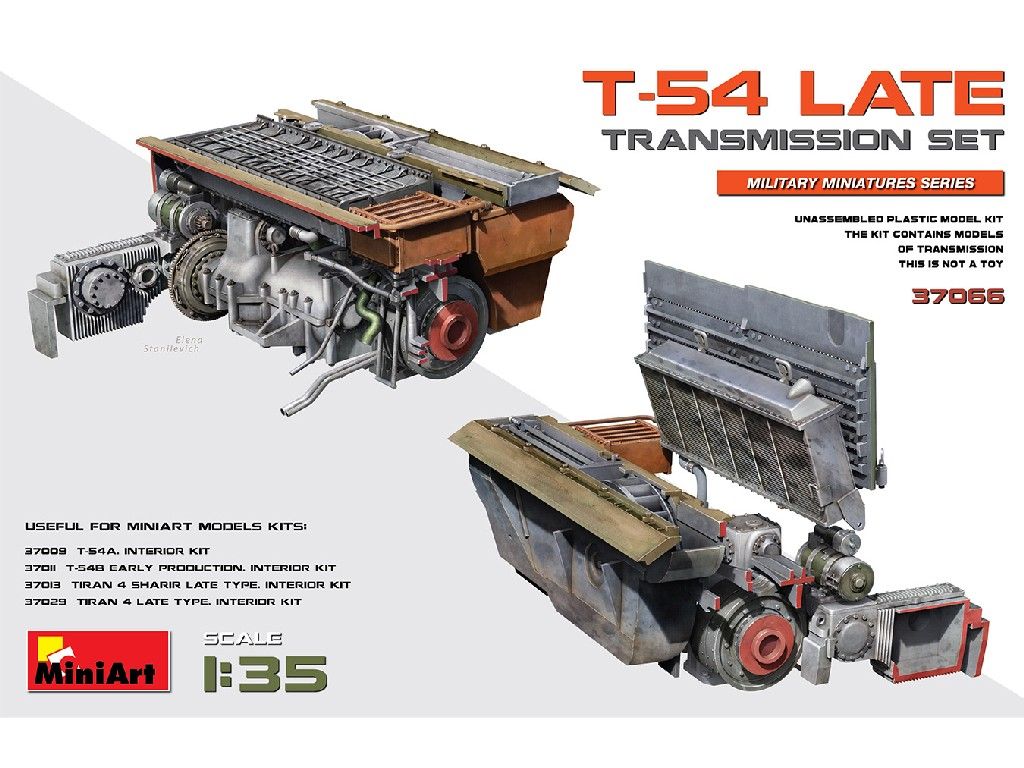 1/35 T-54 Late Transmission Set - Miniart