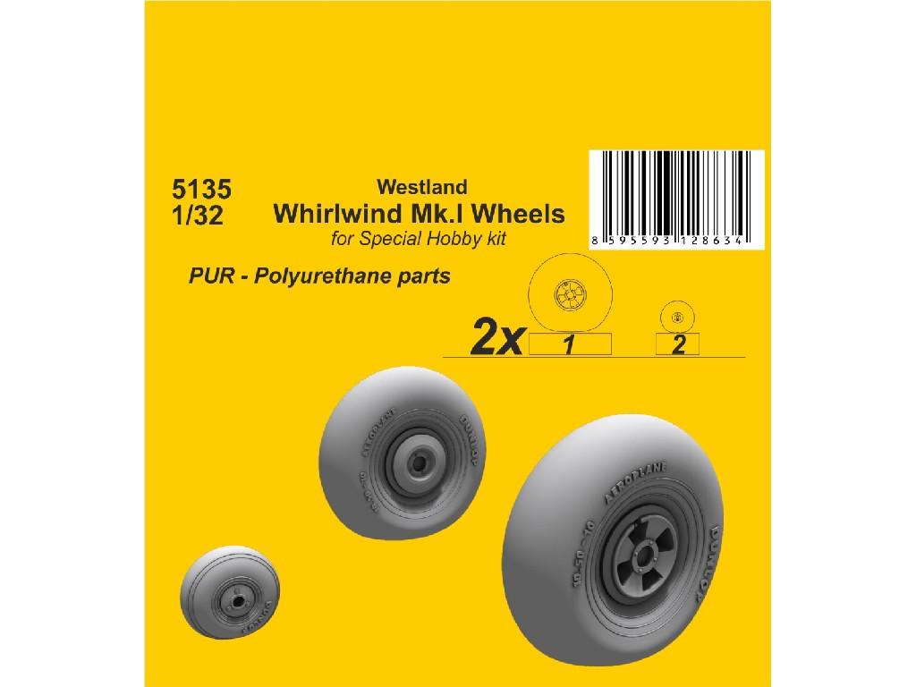 1/32 Westland Whirlwind Mk.I Wheels