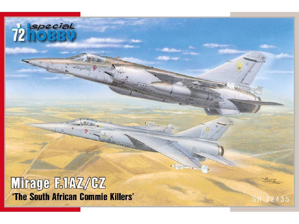1/72 Mirage F.1AZ/CZ 'The South African Commie Killers'