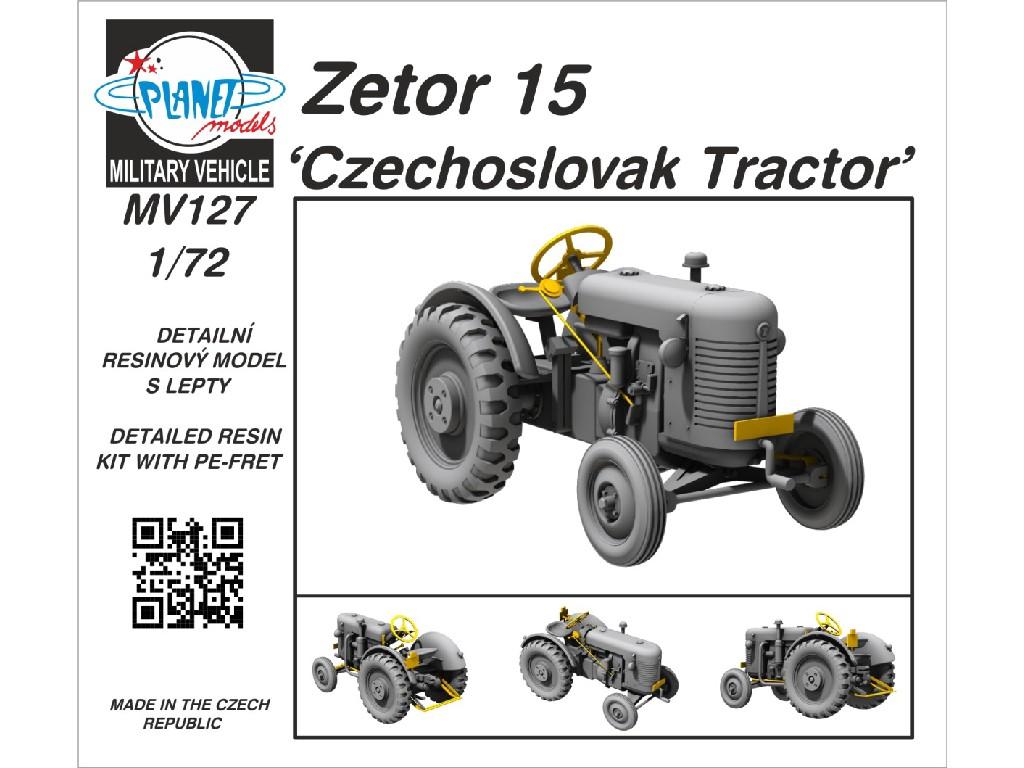 CMK - MV127 - Zetor 15 'Czechoslovak Tractor' 1:72