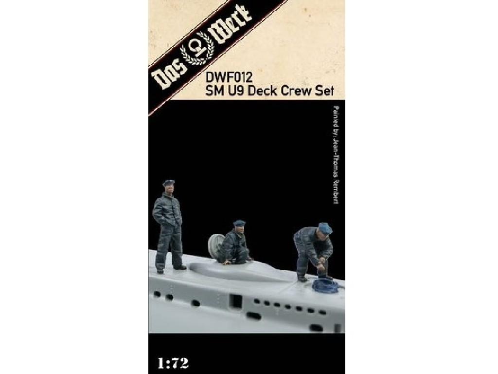 1/72 SM U9 Deck Crew Set - Das Werk