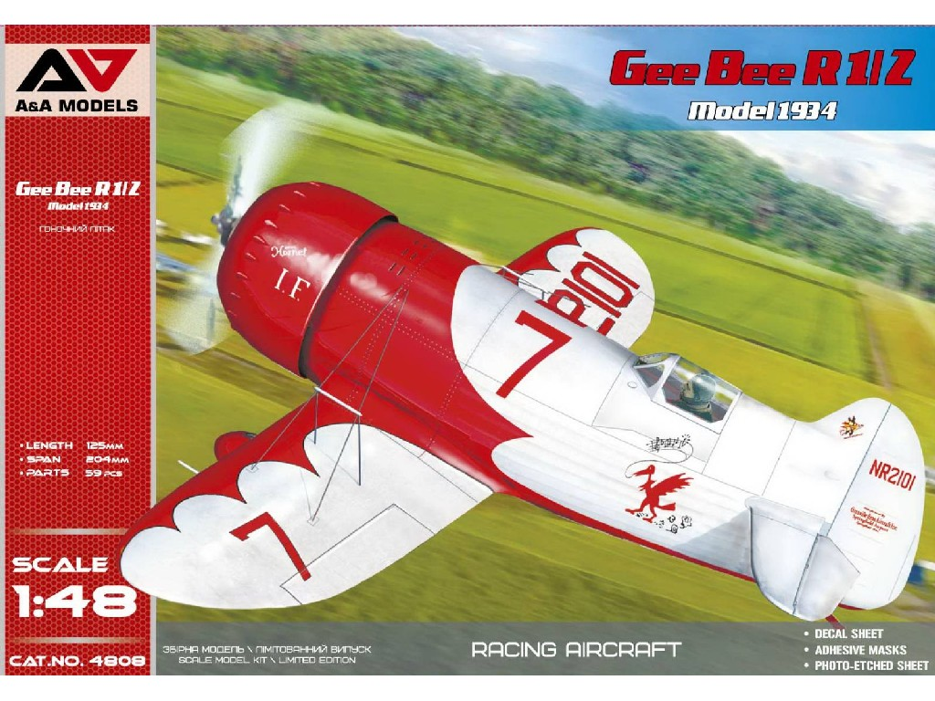 1/48 Gee Bee R1/R2 (1934-1935 release)