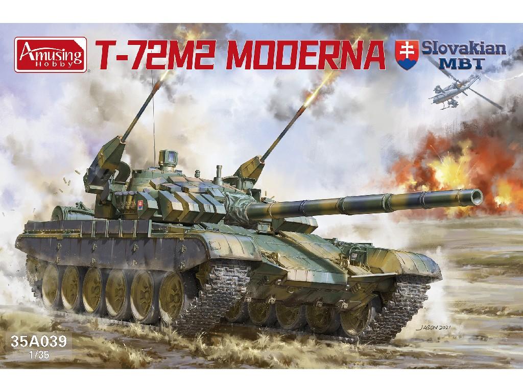 1/35 T-72M2 Moderna Slovak MBT - Amusing Hobby