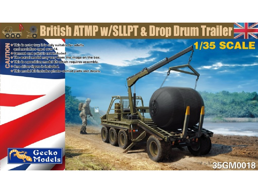 1/35 British ATMP w/SLLPT + Drop Drum Trailer - Gecko Models