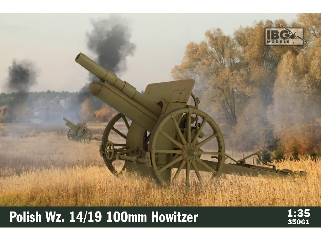 1/35 Polish Wz. 14/19 100mm Howitzer - IBG