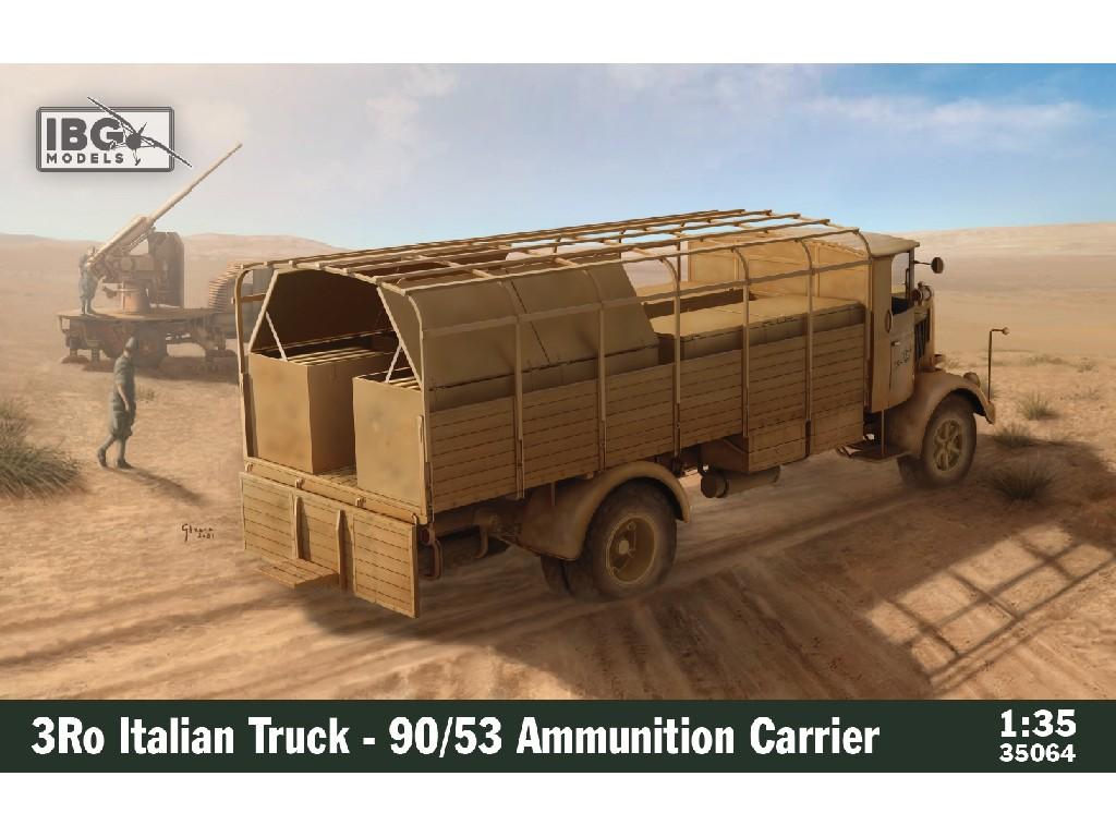 1/35 3Ro Italian Truck - 90/53 Ammunition Carrier - IBG