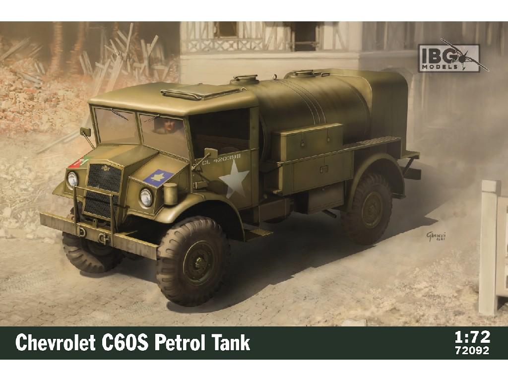 1/72 Chevrolet C60S Petrol Tank - IBG