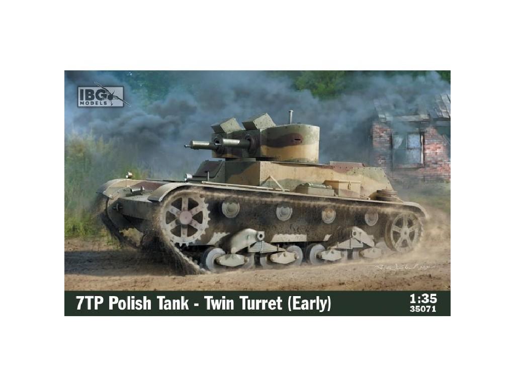 1/35 7TP Polish Tank -Twin Turret (Early Production) - IBG