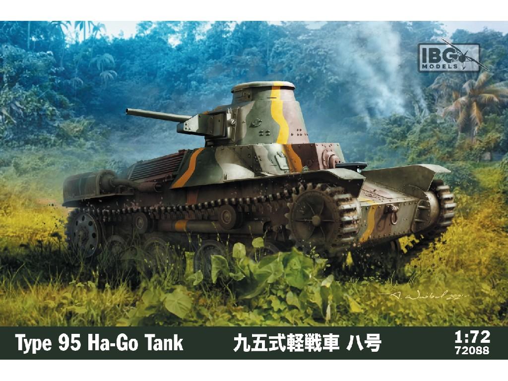 1/72 Type 95 Ha-Go Japanese Light Tank