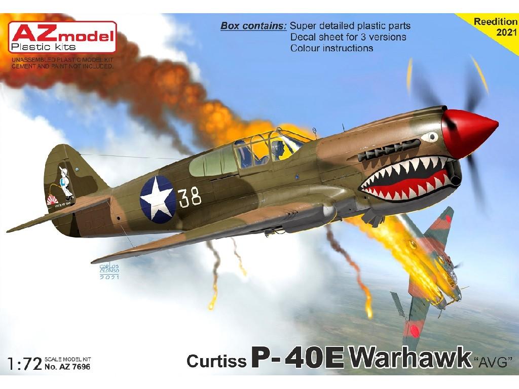 """1/72 P-40E Warhawk """"AVG"""""""