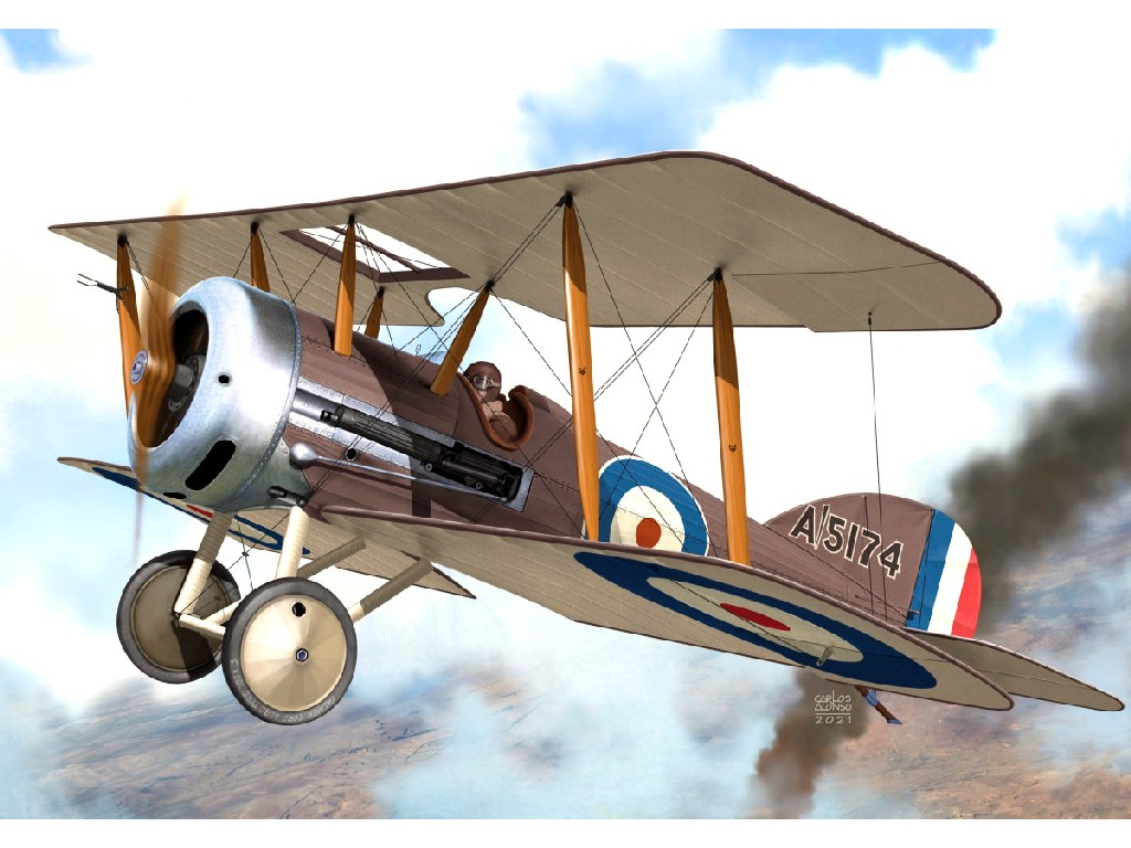 "1/72 Vickers Fb-19 Mk.II ""Bullet"" RFC"
