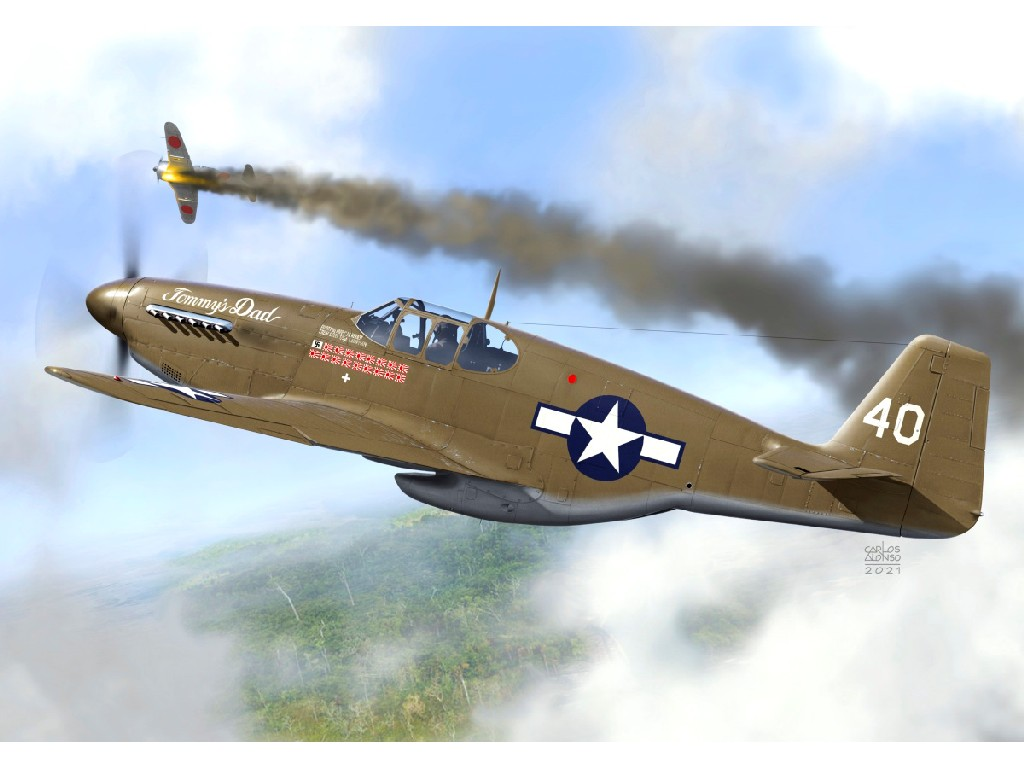 """1/72 P-51B """"Mustang Aces"""""""