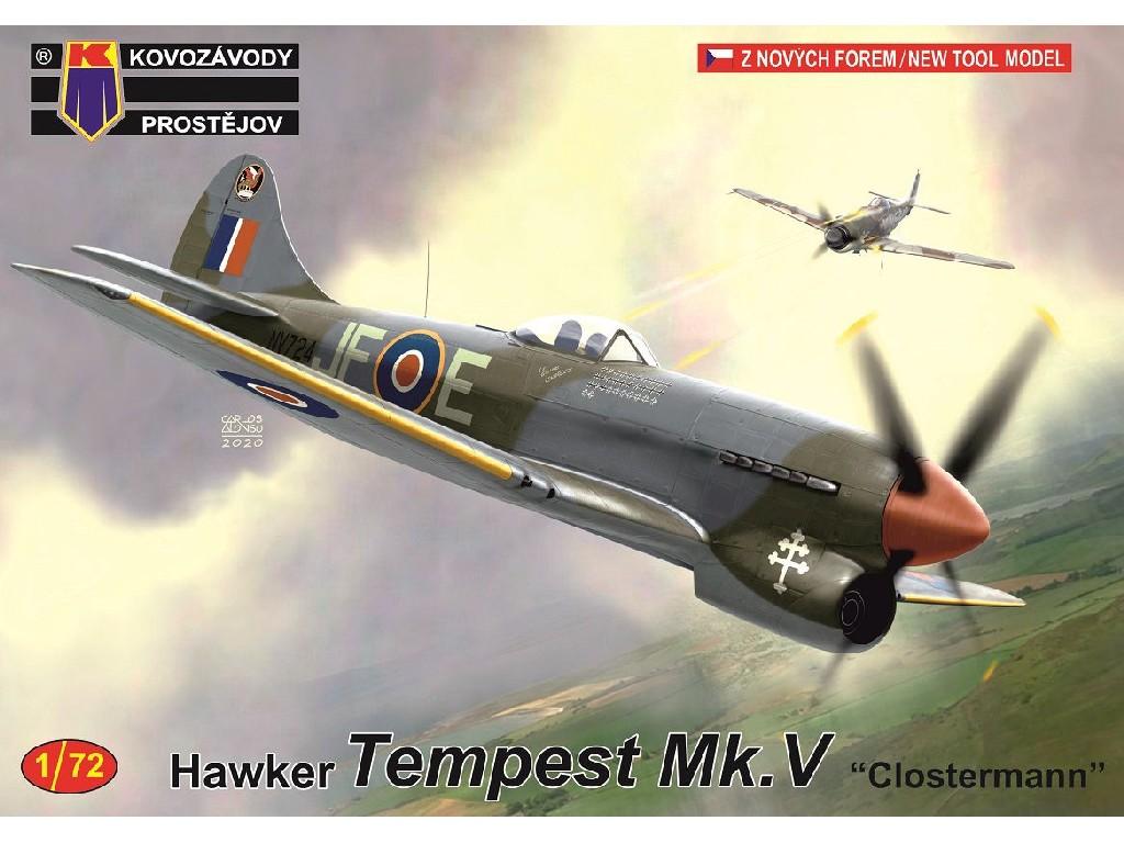 """1/72 Tempest Mk.V """"Clostermann"""""""