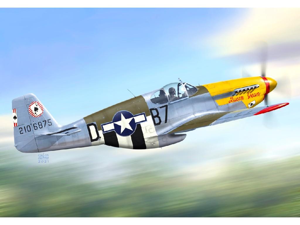 "1/72 P-51B ""Mustang Malcolm"""