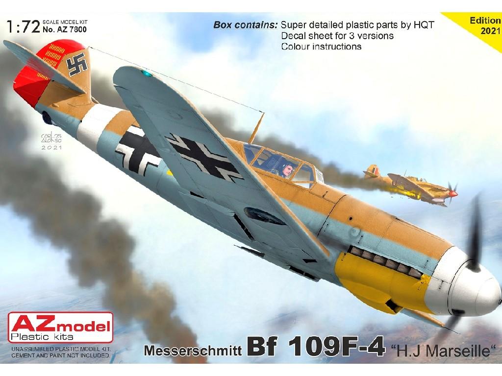 """1/72 Bf 109F-4 """"H.J.Marseille"""""""