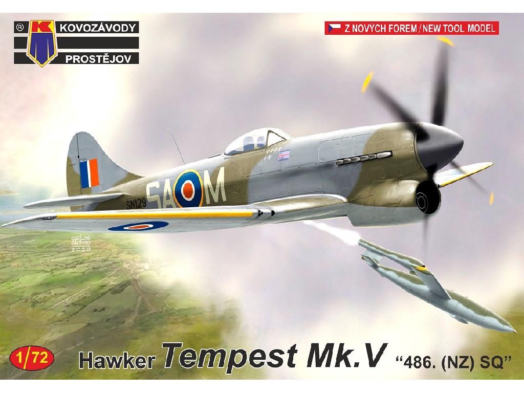 "1/72 Tempest Mk.V ""486. (NZ) SQ"