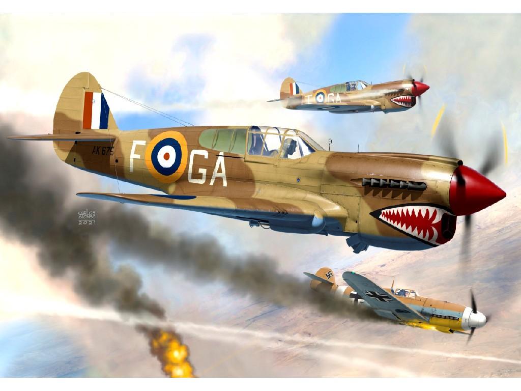 """1/72 Kittyhawk Mk.Ia """"RAF/SAAF"""