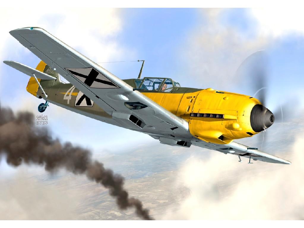"1/72 Bf 109E-3 ""Bulgarian Eagles"""