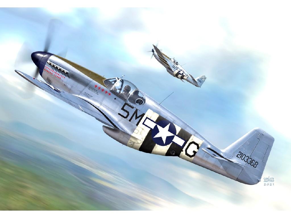 """1/72 F-6C Photo-recce Mustang"""" Malcolm"""