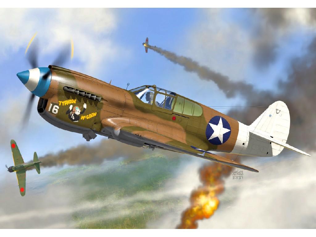 1/72 P-40E Warhawk 49.th  FG