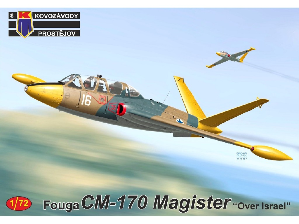 "1/72 Fouga CM-170 Magister ""Over Israel"""