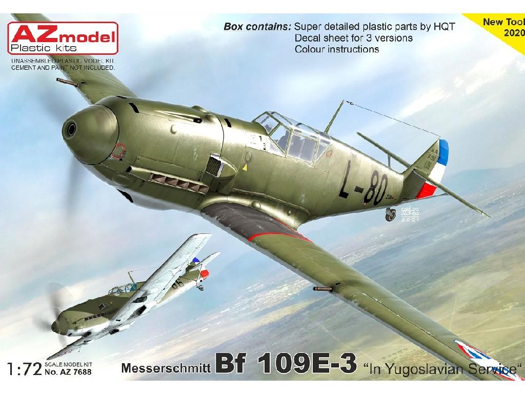 "1/72 Bf 109E-3 ""In Yugoslavian Service"""