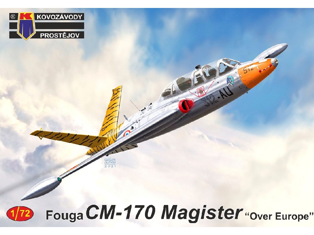 """1/72 Fouga CM-170 Magister """"Over Europe"""""""