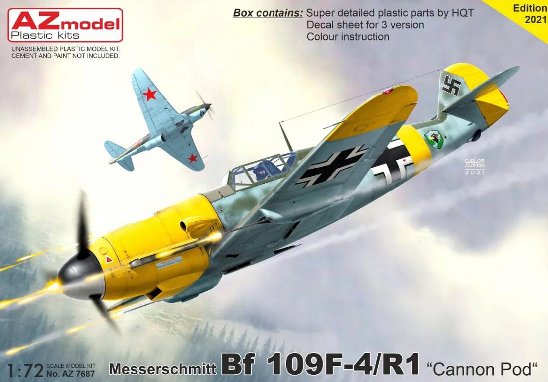 """1/72 Bf 109F-4/R1 """"Kanon Pod"""""""