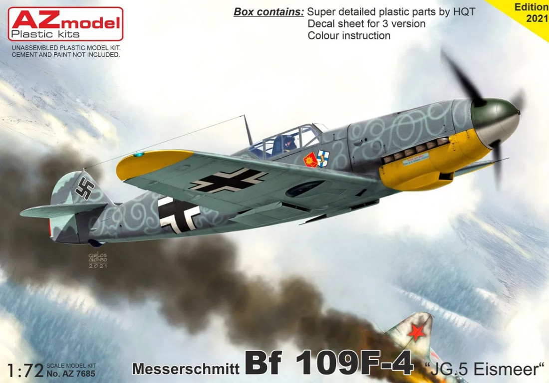"1/72 Bf 109F-4 ""JG.5 Eismeer"""