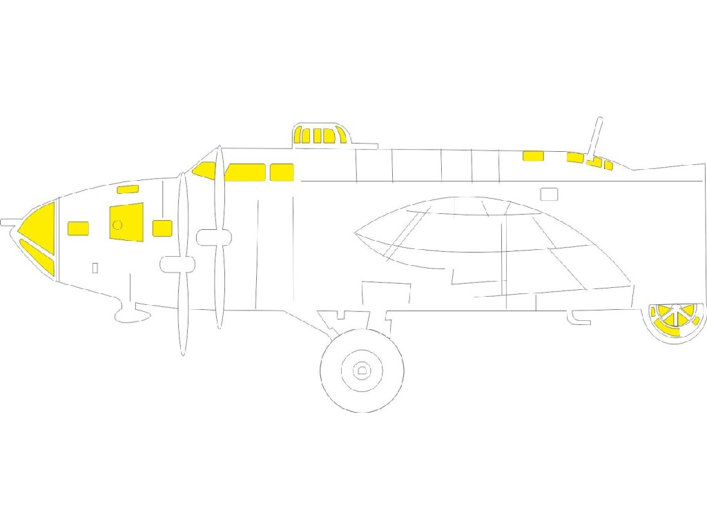 1/48 B-17F TFace for HKM kit