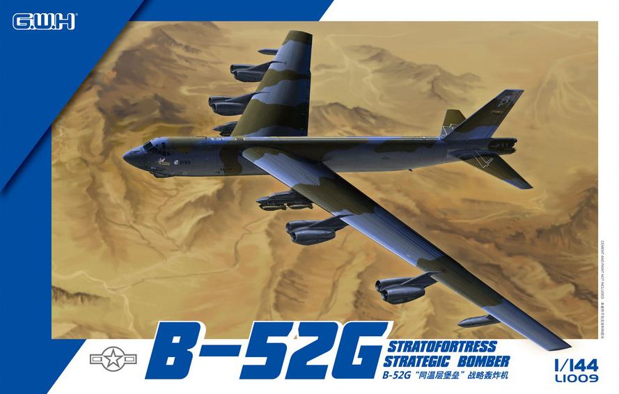 1/144 US Air Force B-52G Strategic Bomber