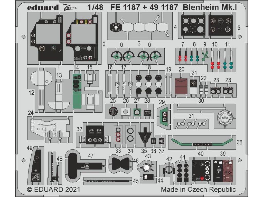 1/48 Blenheim Mk.I for AIRFIX kit