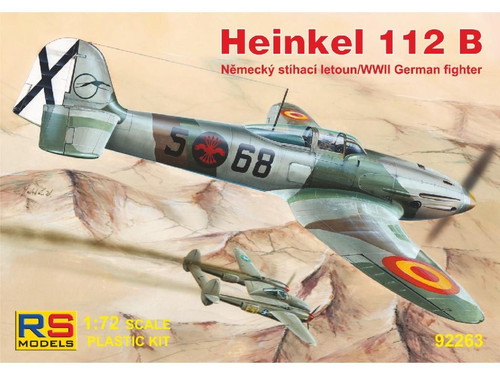 1/72 Heinkel He-112B Spain