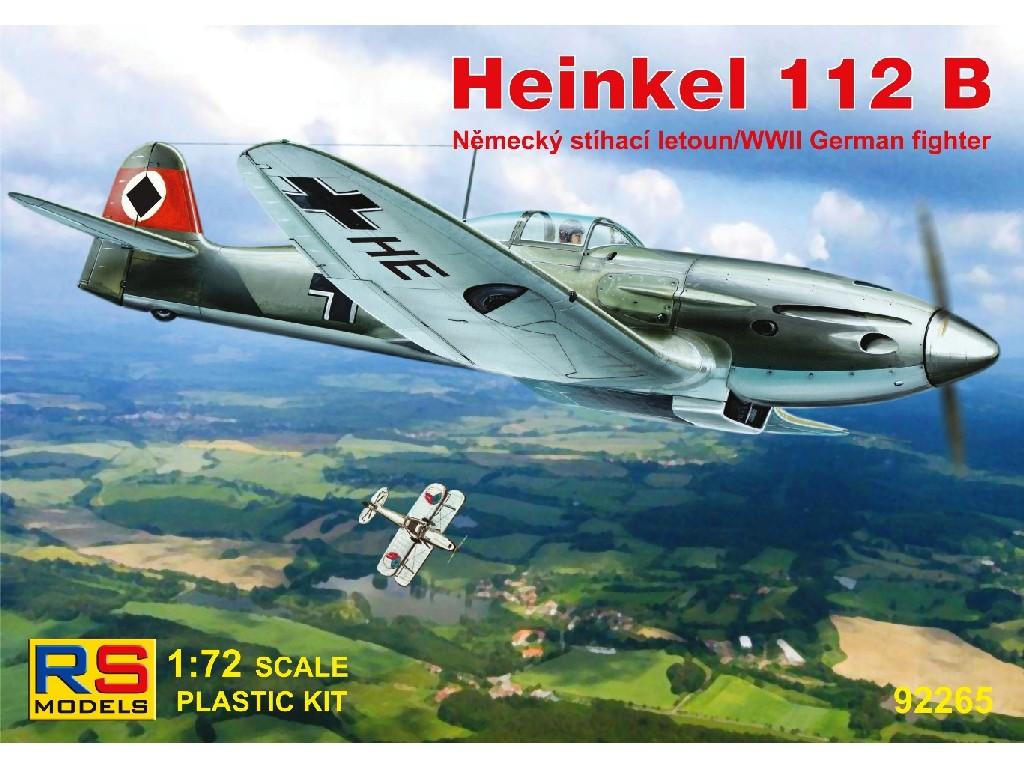 1/72 Heinkel He 112B