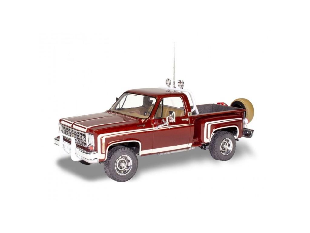 1/25 Chevy Sports Stepside Pickup 76 - Monogram