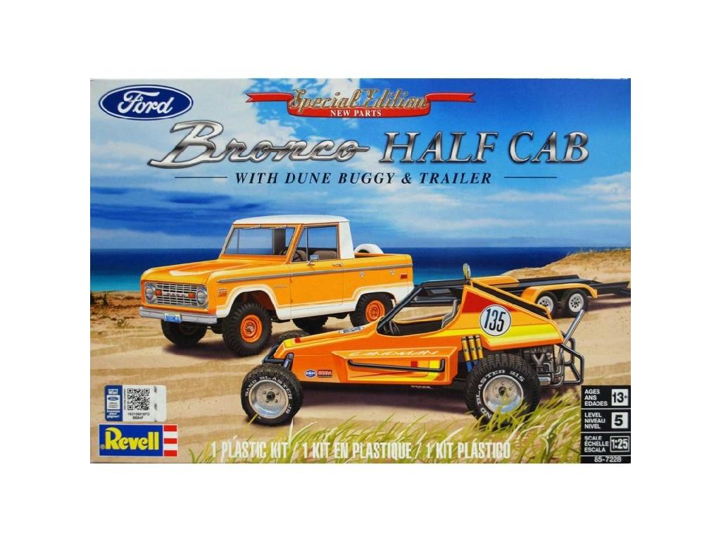 1/25 Ford Bronco Half Cab - Sandman II - Monogram