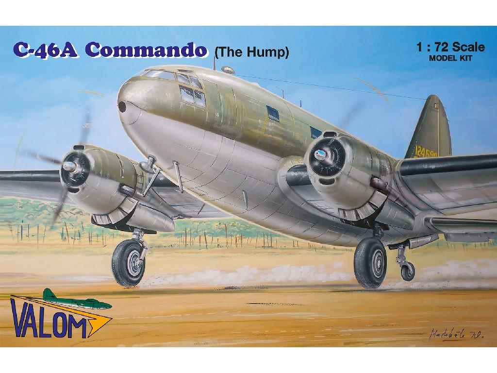 1/72 Curtiss C-46A Commando (The Hump) - Valom