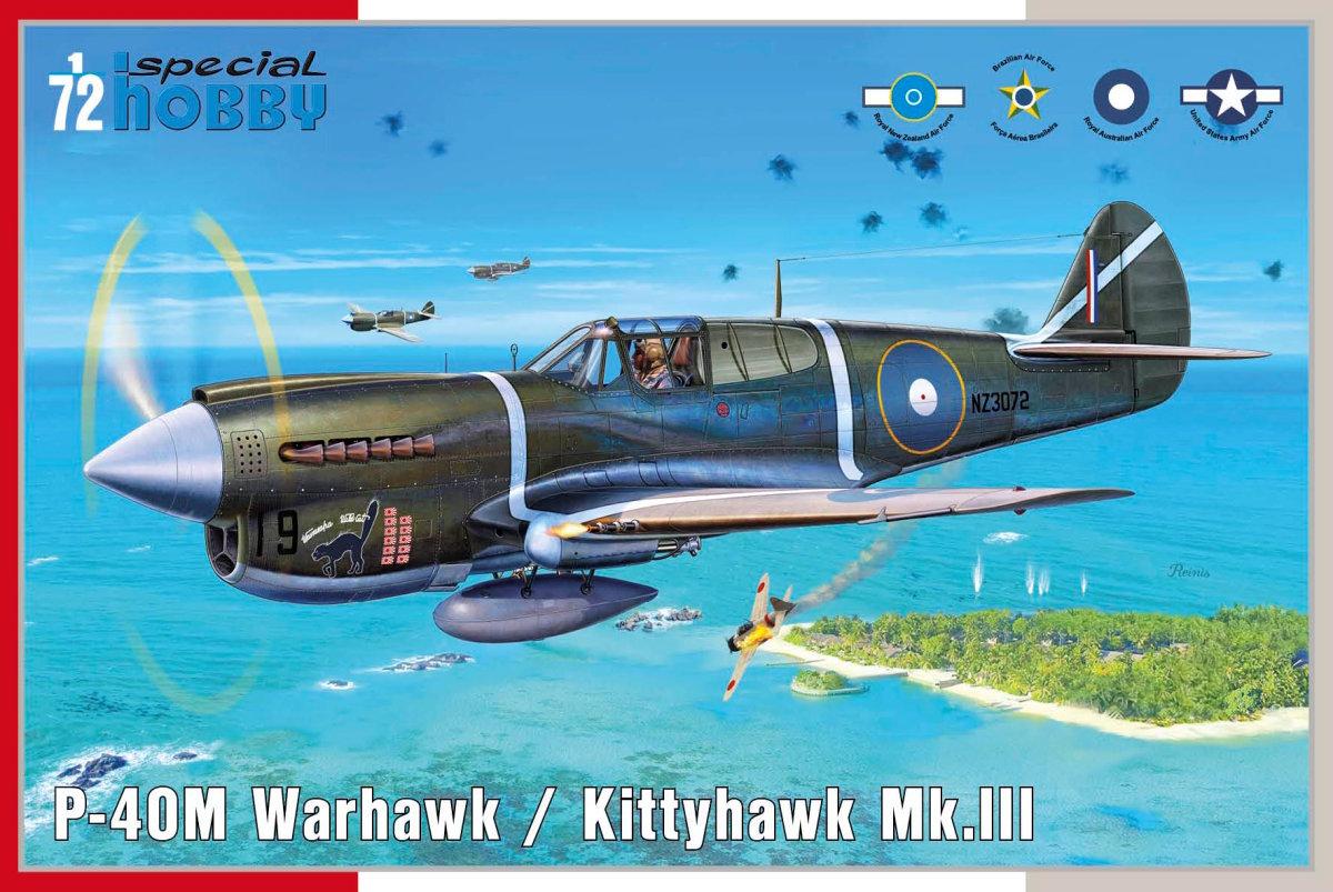 1/72 P-40M Warhawk