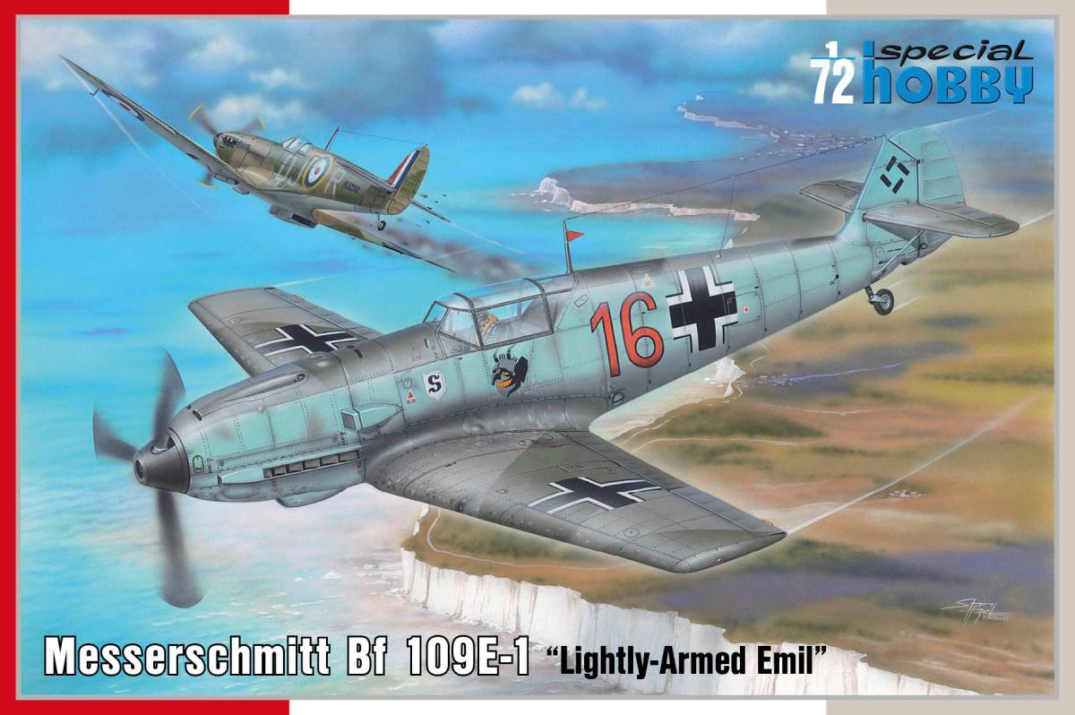 1/72 Messerschmitt Bf 109E-1 Lightly-Armed Emil