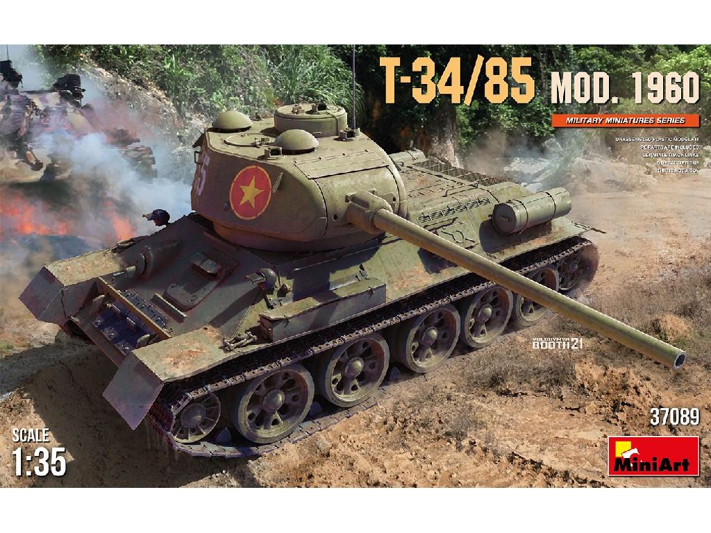 1/35 T-34-85 Mod. 1960 - Miniart
