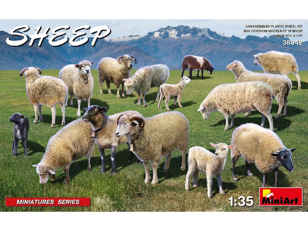 1/35 Sheep - Miniart